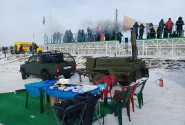 18 февраля 2018г. Полевая кухня КП-130 в с.Сосновка