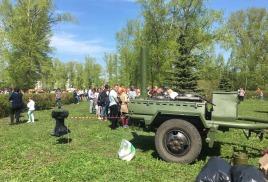 09 мая 2018г. Полевая кУхня Кп-130 в Центральном парке г.Тольятти