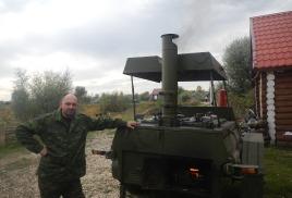 24 сентября 2016г. Полевая кухня КП-130 в с.Хрящевка